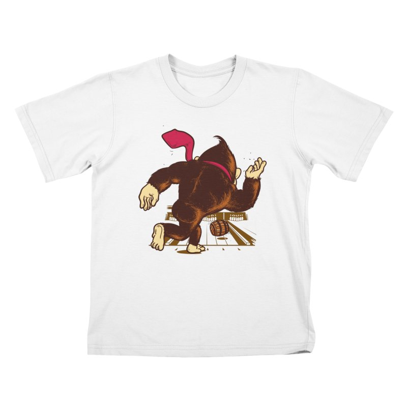 Training Field Kids T-Shirt by Flying Mouse365