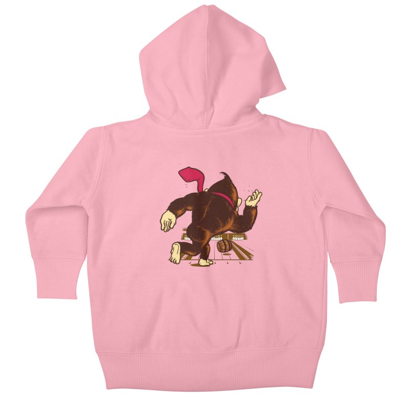 Training Field Kids Baby Zip-Up Hoody by Flying Mouse365