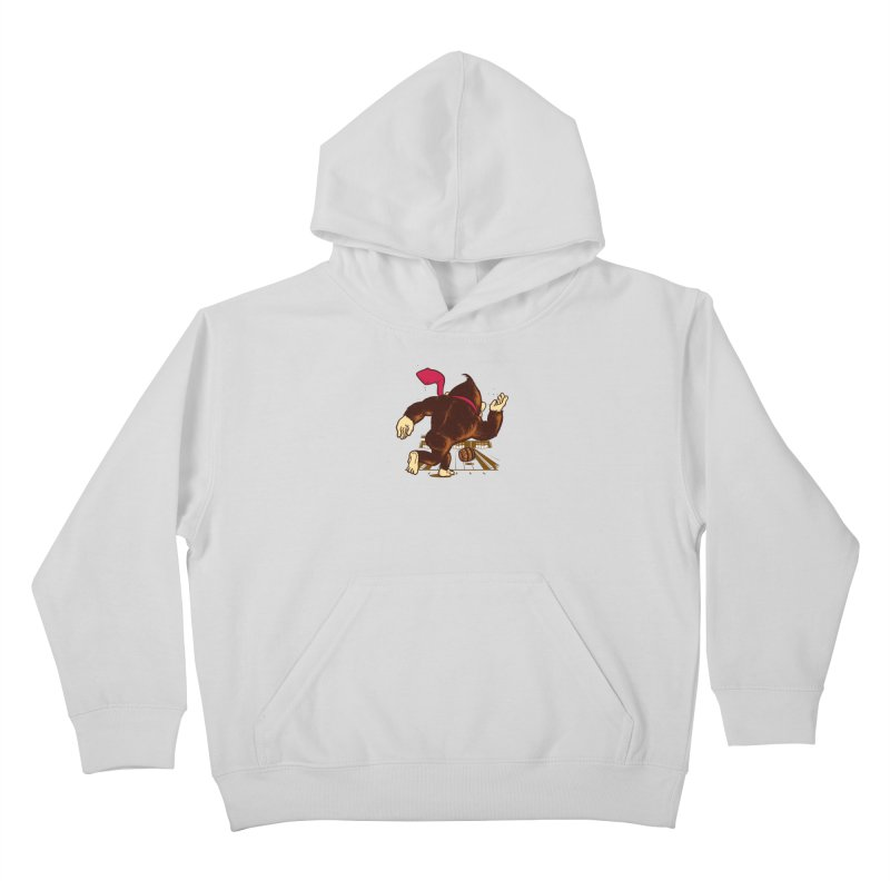 Training Field Kids Pullover Hoody by Flying Mouse365