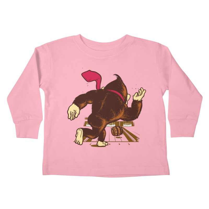 Training Field Kids Toddler Longsleeve T-Shirt by Flying Mouse365