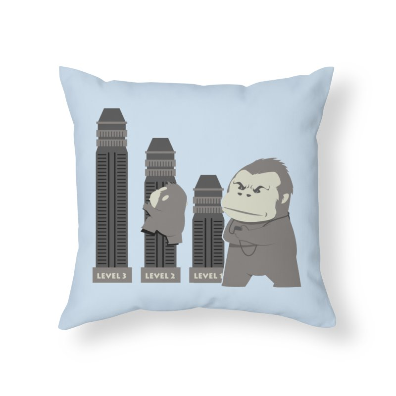 Training Home Throw Pillow by Flying Mouse365