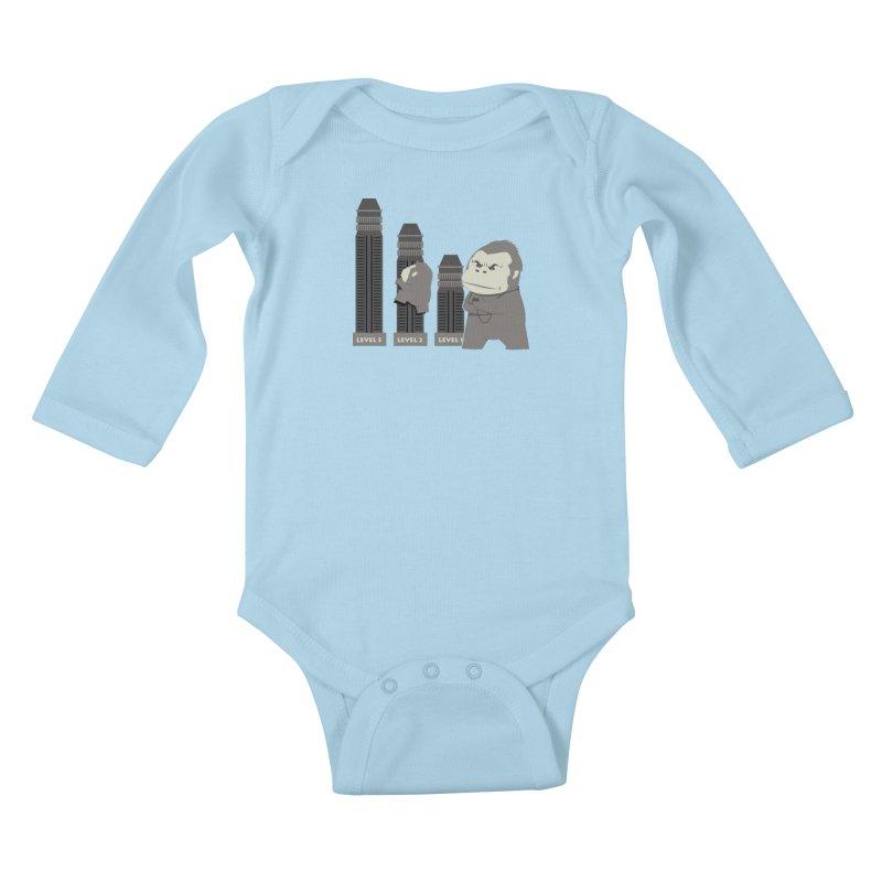 Training Kids Baby Longsleeve Bodysuit by Flying Mouse365