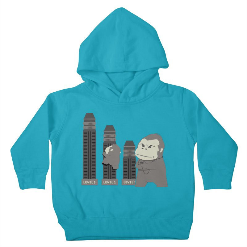 Training Kids Toddler Pullover Hoody by Flying Mouse365