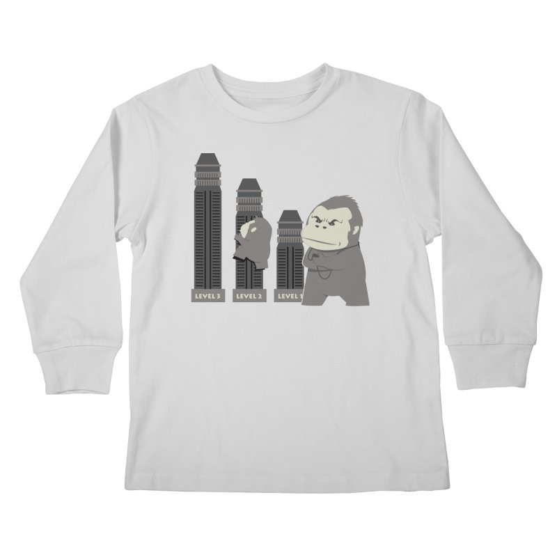 Training Kids Longsleeve T-Shirt by Flying Mouse365
