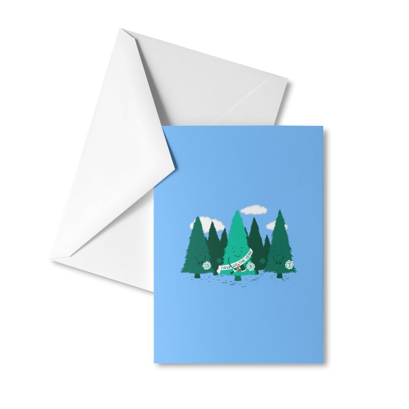 Tree Of The Year Accessories Greeting Card by Flying Mouse365
