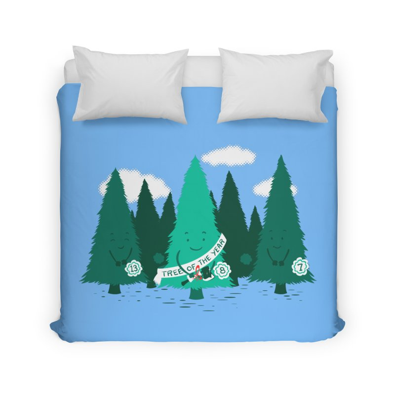 Tree Of The Year Home Duvet by Flying Mouse365