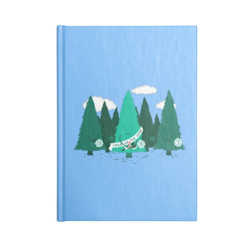 Tree Of The Year Accessories Notebook by Flying Mouse365