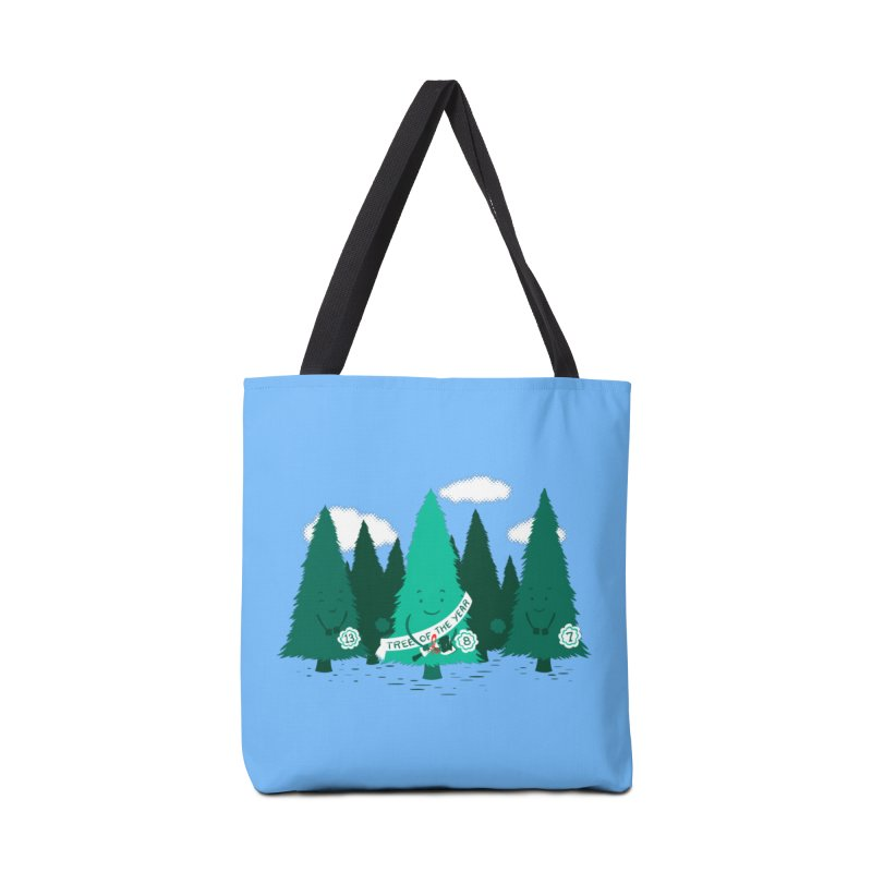 Tree Of The Year Accessories Bag by Flying Mouse365