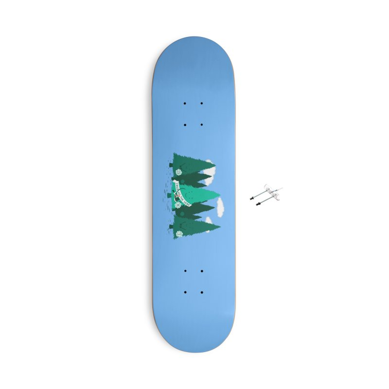 Tree Of The Year Accessories Skateboard by Flying Mouse365