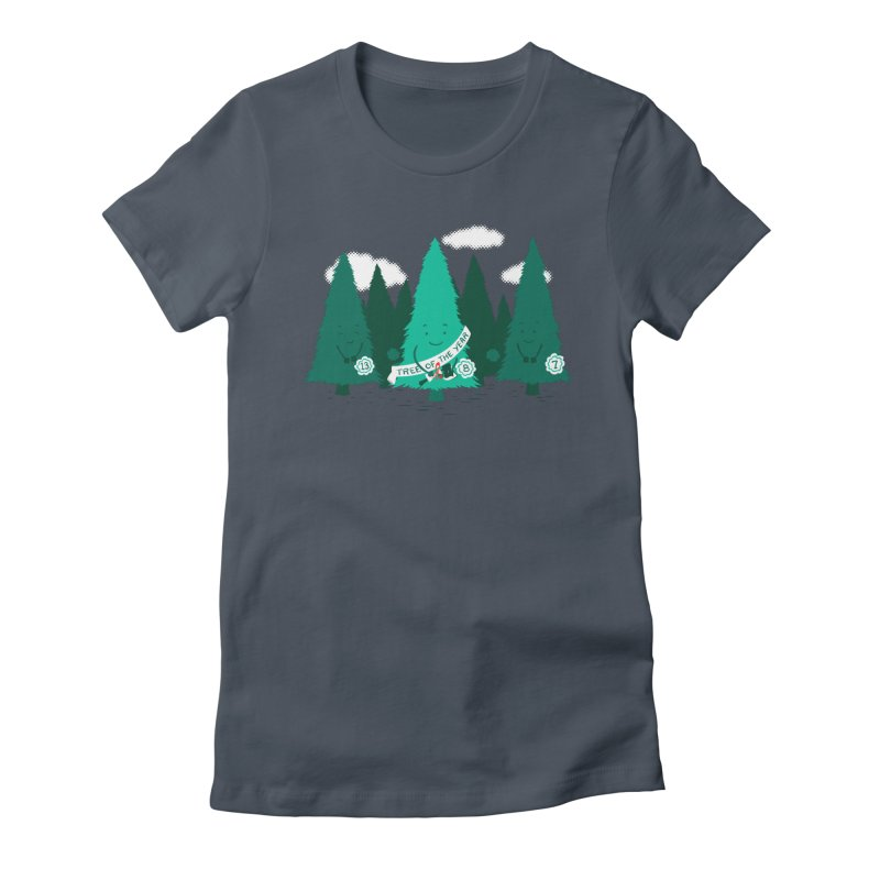 Tree Of The Year Women's T-Shirt by Flying Mouse365