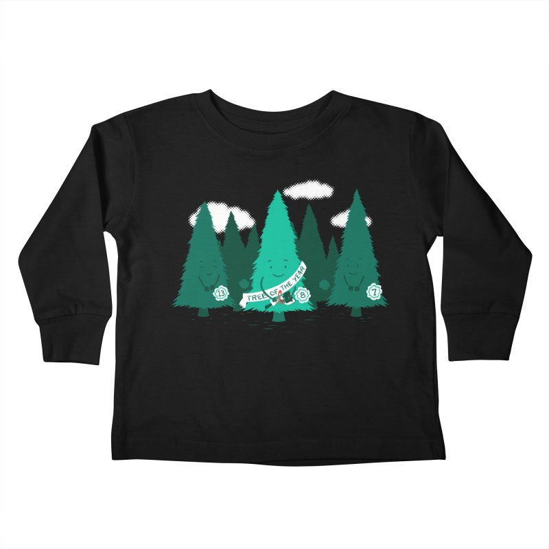 Tree Of The Year Kids Toddler Longsleeve T-Shirt by Flying Mouse365