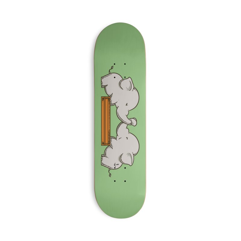 Trunk Wrestling Accessories Skateboard by Flying Mouse365