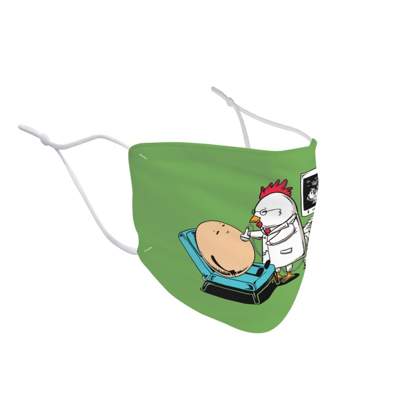 Ultrasound Scans Accessories Face Mask by Flying Mouse365