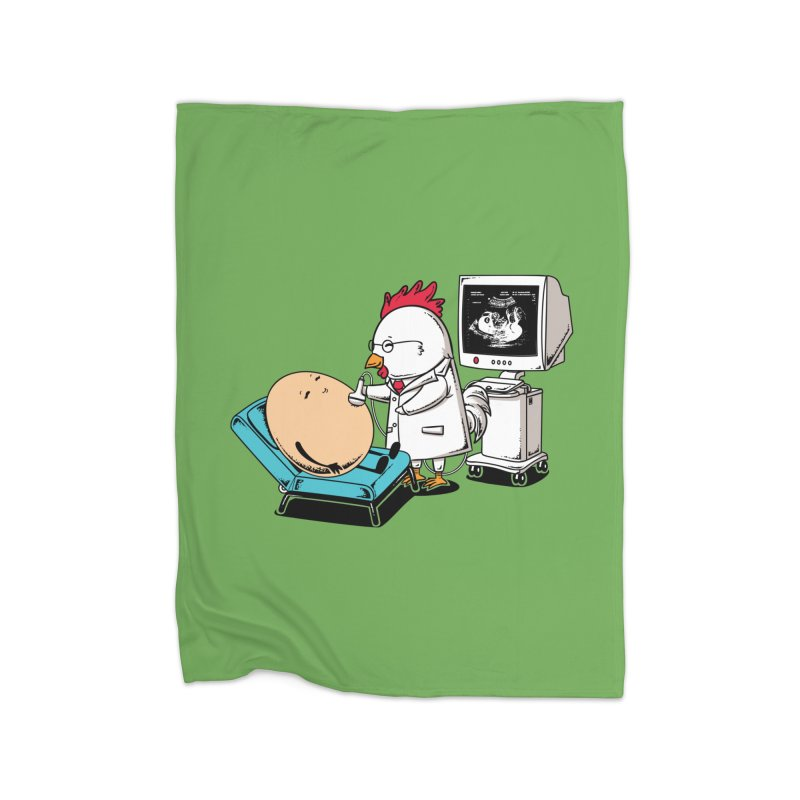 Ultrasound Scans Home Blanket by Flying Mouse365