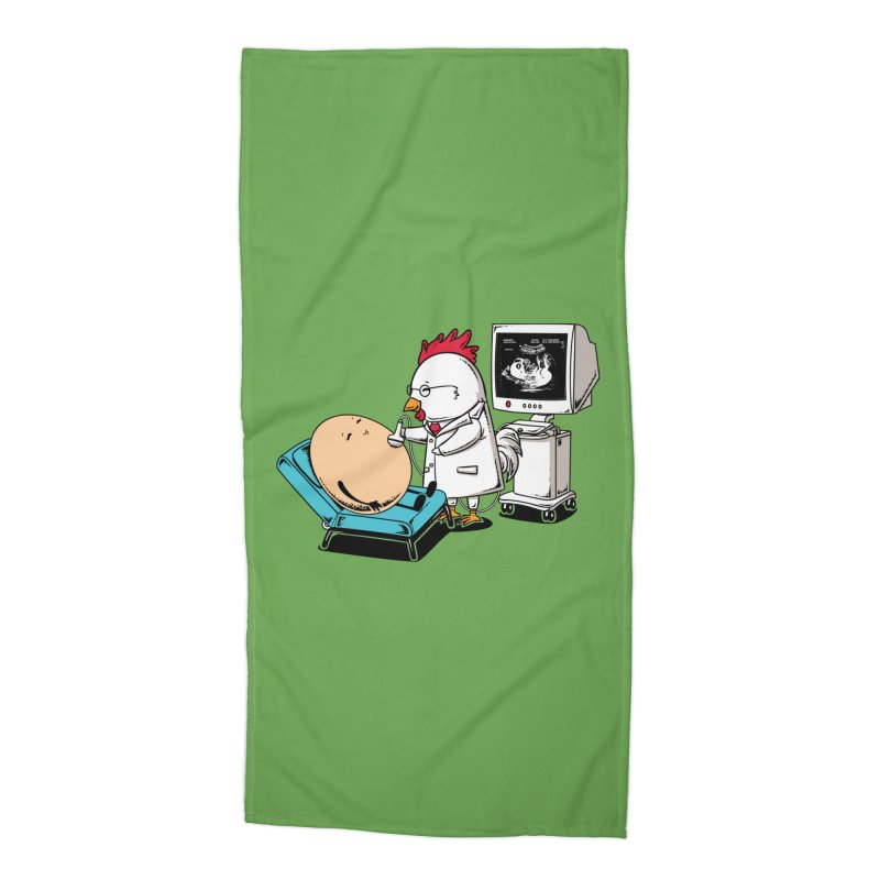 Ultrasound Scans Accessories Beach Towel by Flying Mouse365