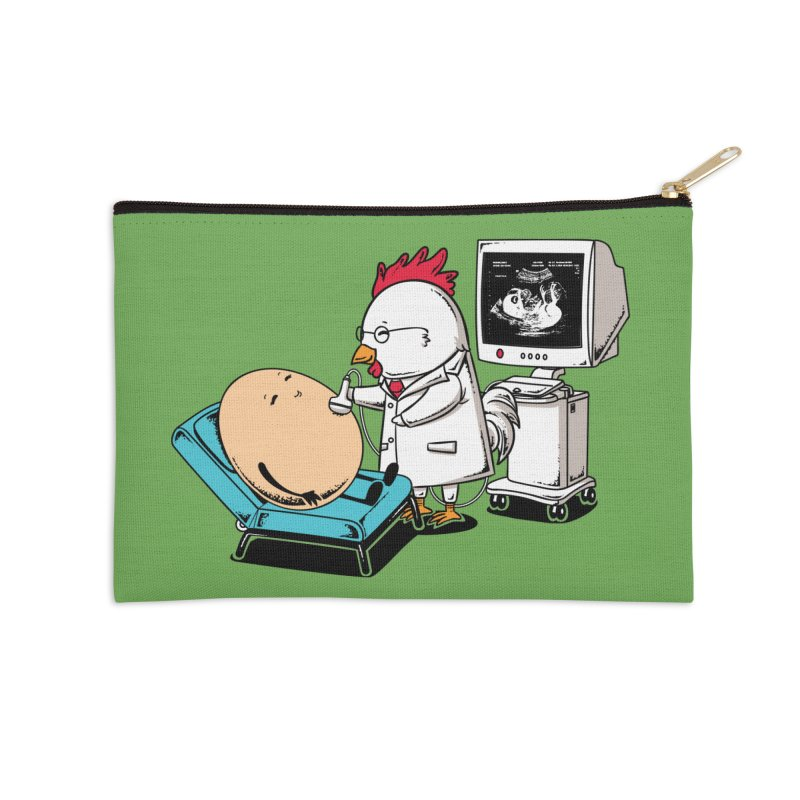 Ultrasound Scans Accessories Zip Pouch by Flying Mouse365