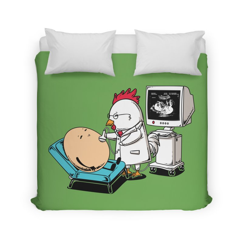 Ultrasound Scans Home Duvet by Flying Mouse365