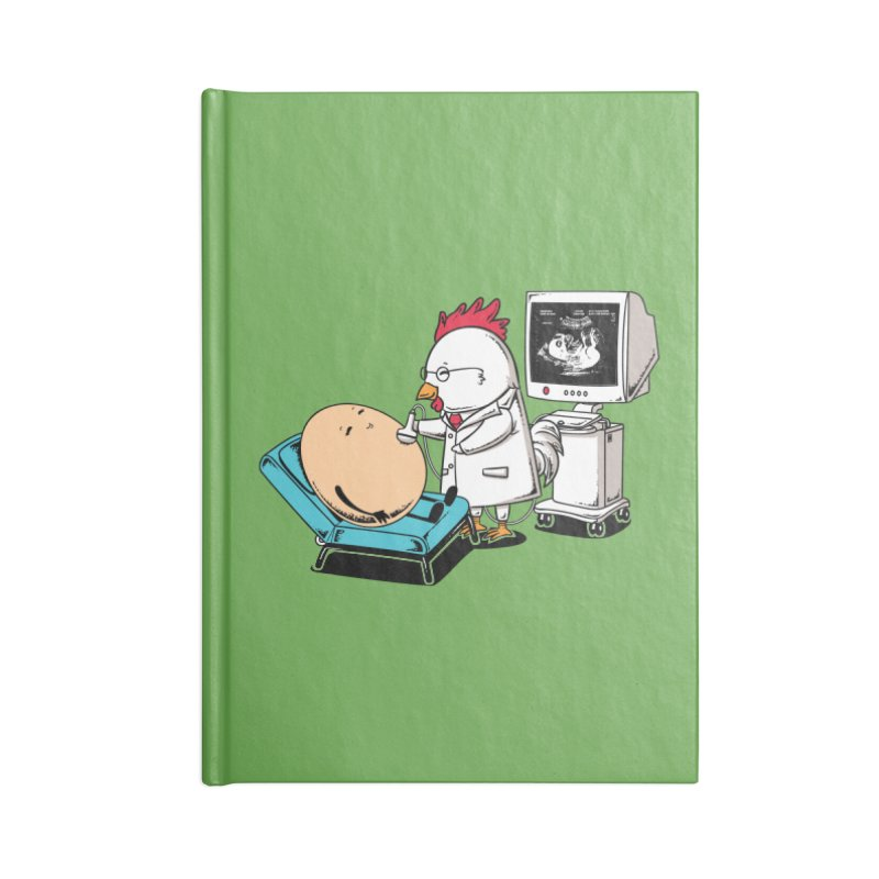 Ultrasound Scans Accessories Notebook by Flying Mouse365