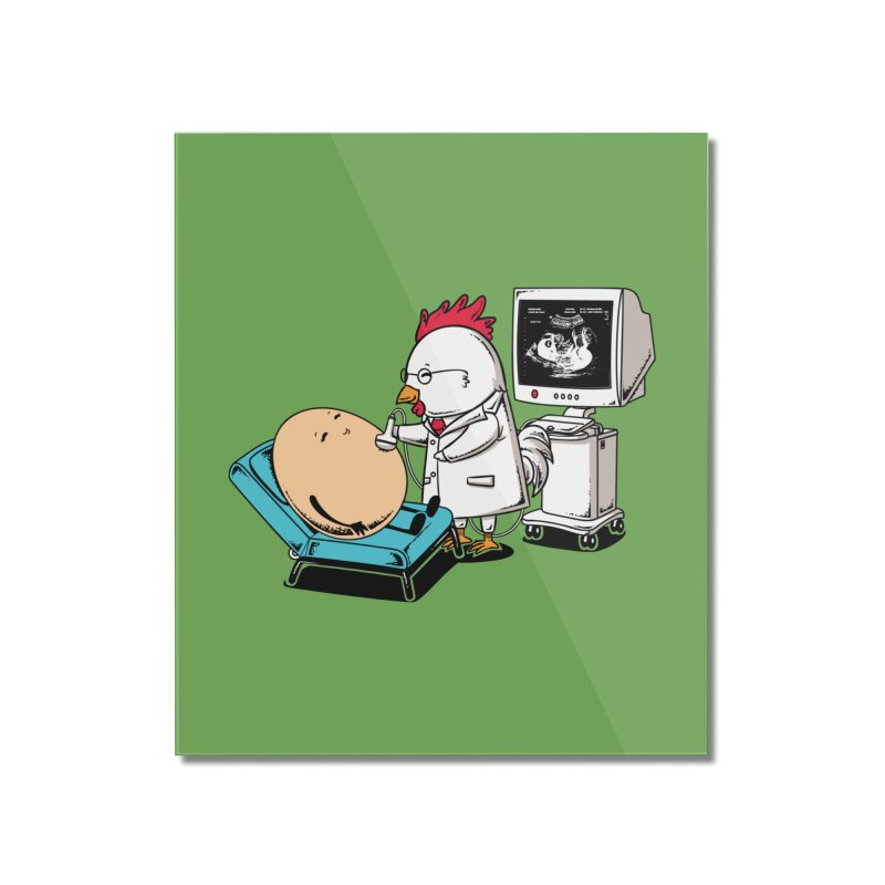 Ultrasound Scans Home Mounted Acrylic Print by Flying Mouse365