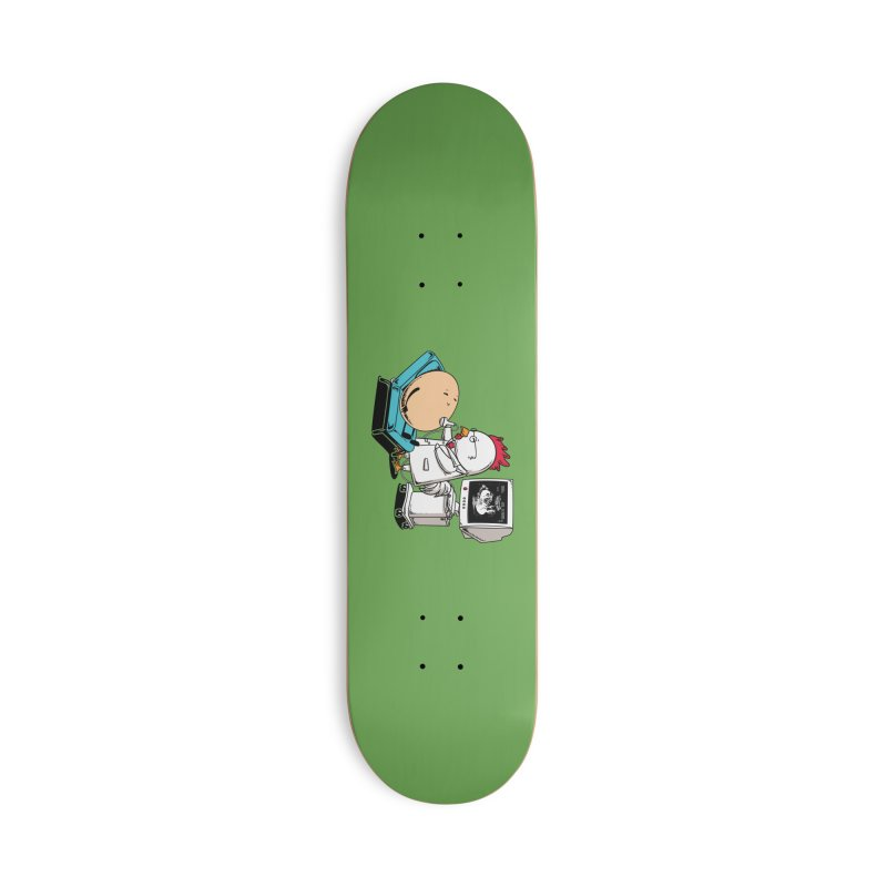 Ultrasound Scans Accessories Skateboard by Flying Mouse365