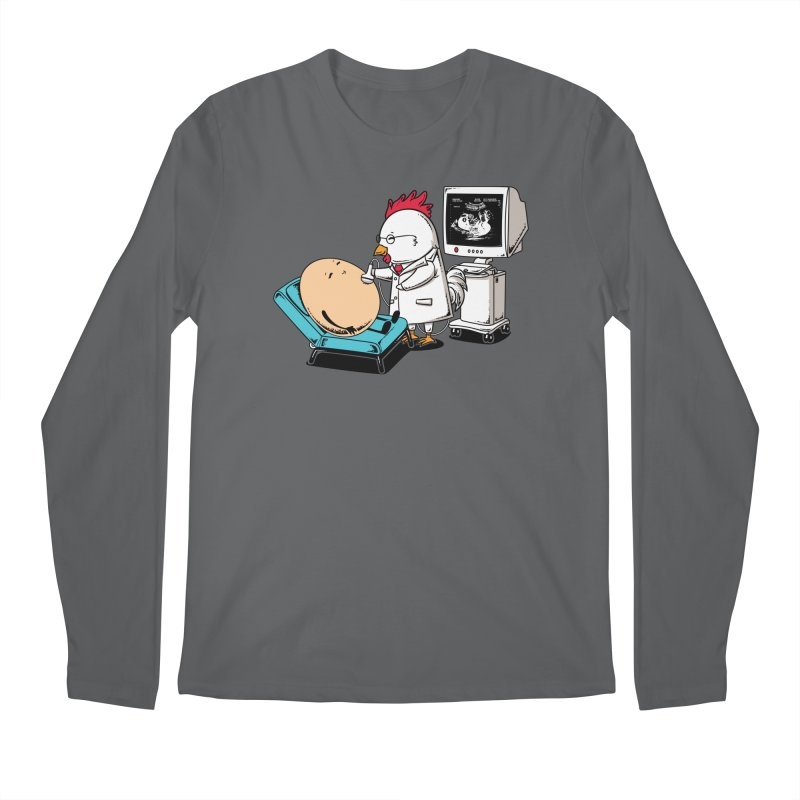 Ultrasound Scans Men's Longsleeve T-Shirt by Flying Mouse365