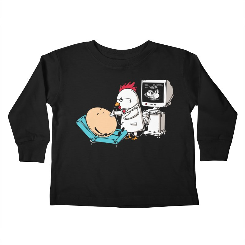 Ultrasound Scans Kids Toddler Longsleeve T-Shirt by Flying Mouse365