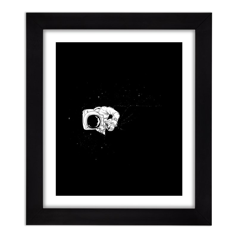 Universe Dream Home Framed Fine Art Print by Flying Mouse365