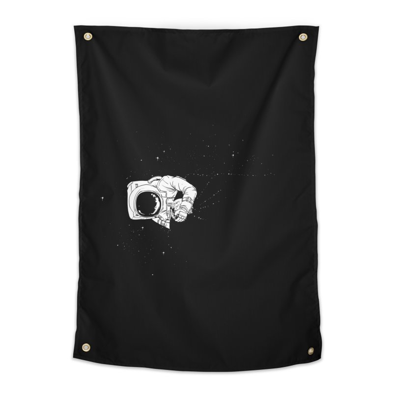 Universe Dream Home Tapestry by Flying Mouse365