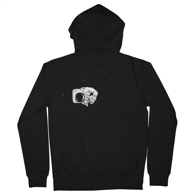 Universe Dream Men's Zip-Up Hoody by Flying Mouse365