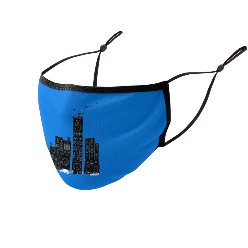 Urban Track Accessories Face Mask by Flying Mouse365