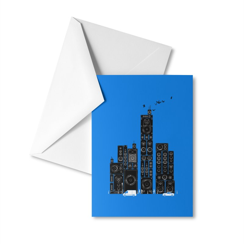 Urban Track Accessories Greeting Card by Flying Mouse365