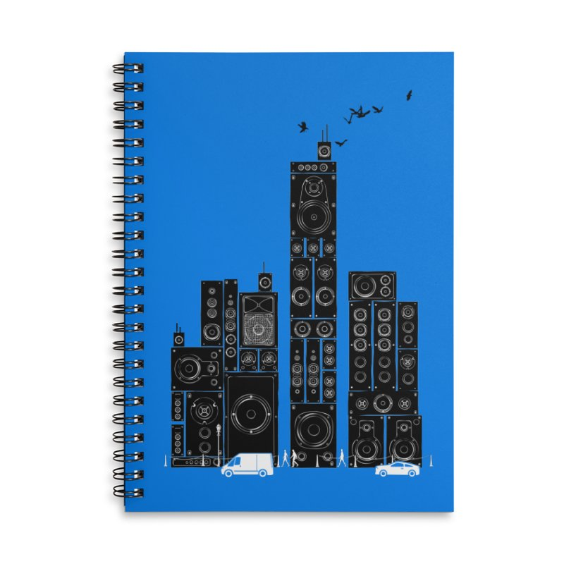 Urban Track Accessories Notebook by Flying Mouse365