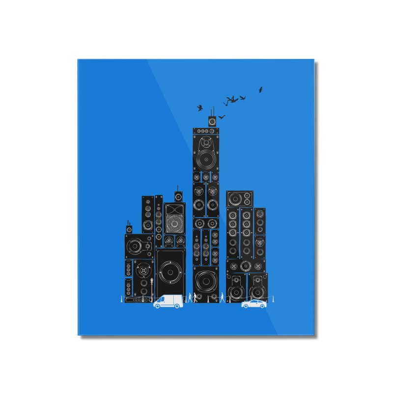 Urban Track Home Mounted Acrylic Print by Flying Mouse365