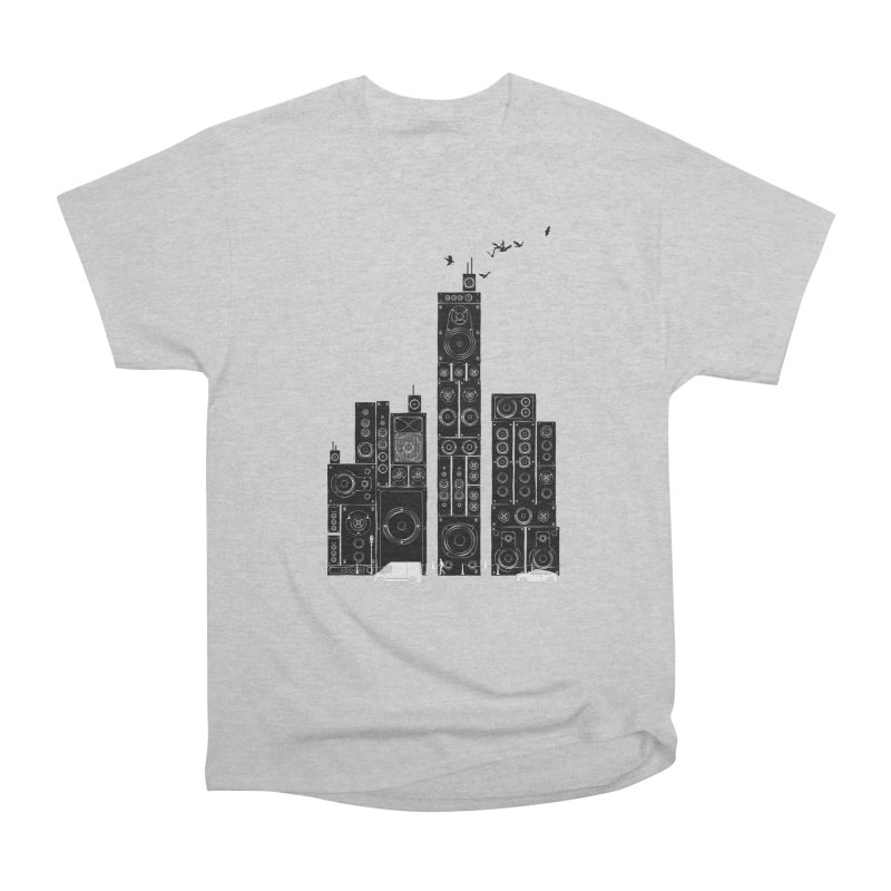 Urban Track Men's T-Shirt by Flying Mouse365
