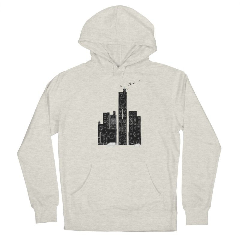 Urban Track Men's Pullover Hoody by Flying Mouse365