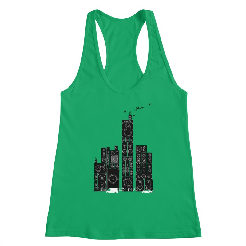 Urban Track Women's Tank by Flying Mouse365