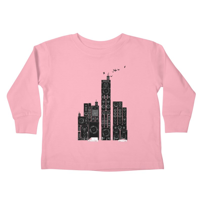 Urban Track Kids Toddler Longsleeve T-Shirt by Flying Mouse365