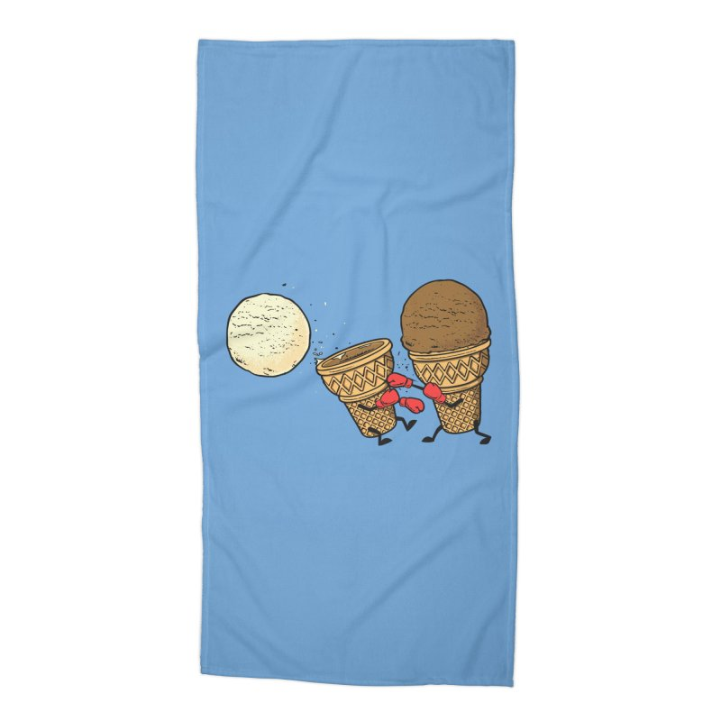 Victory Accessories Beach Towel by Flying Mouse365