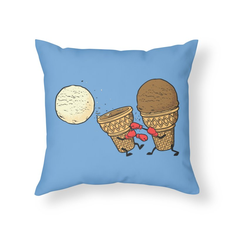Victory Home Throw Pillow by Flying Mouse365