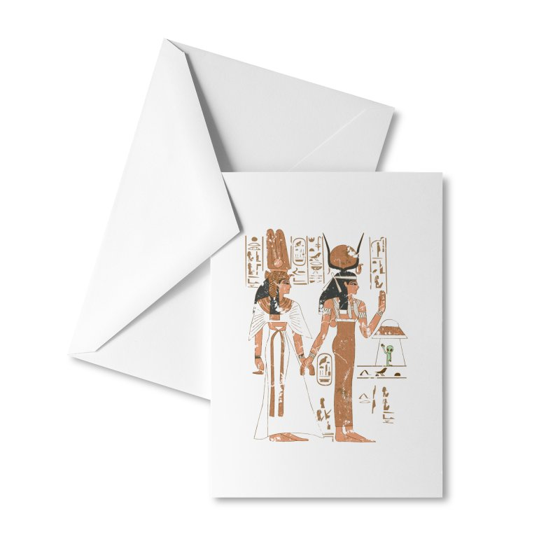 Visitor Accessories Greeting Card by Flying Mouse365