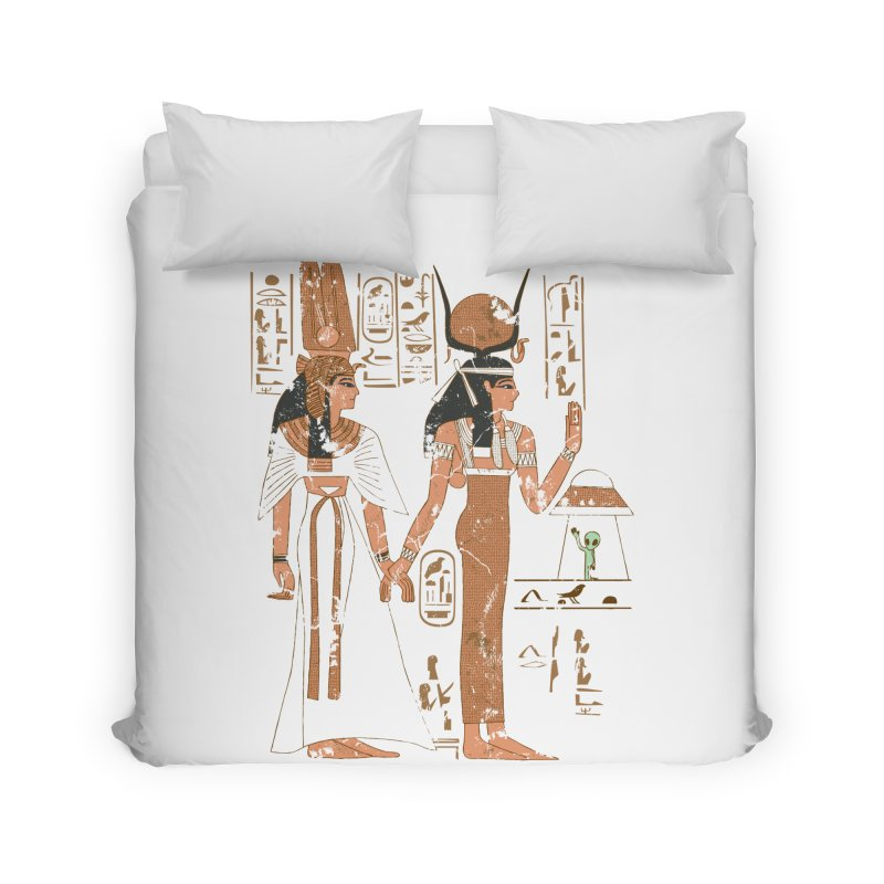 Visitor Home Duvet by Flying Mouse365