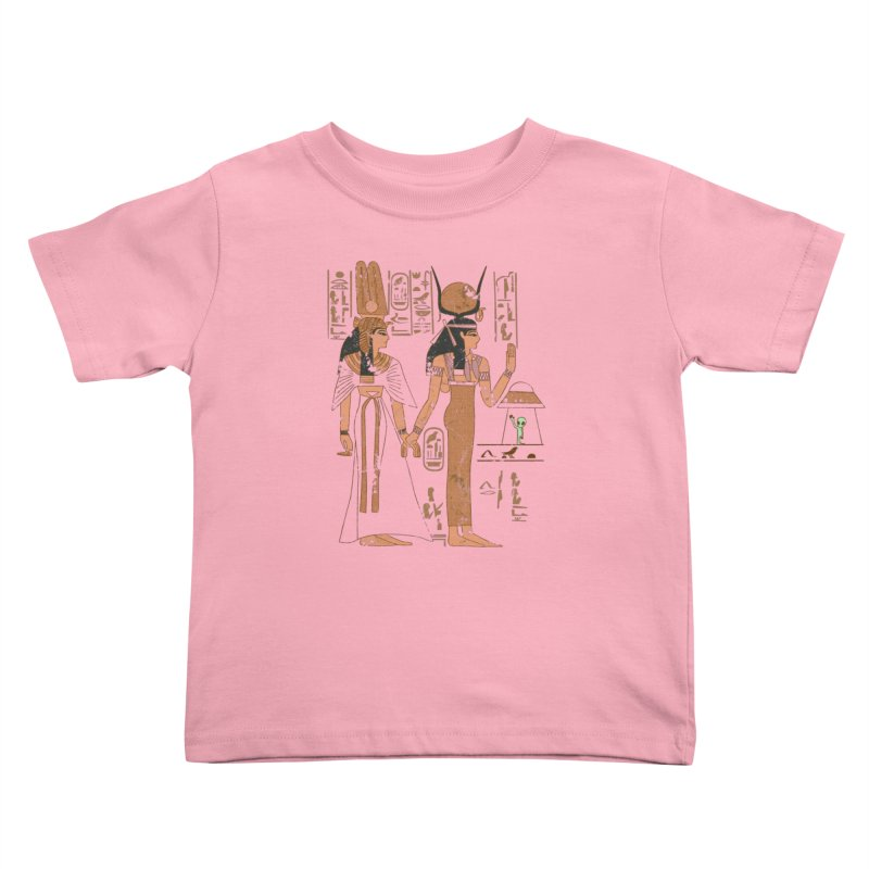 Visitor Kids Toddler T-Shirt by Flying Mouse365