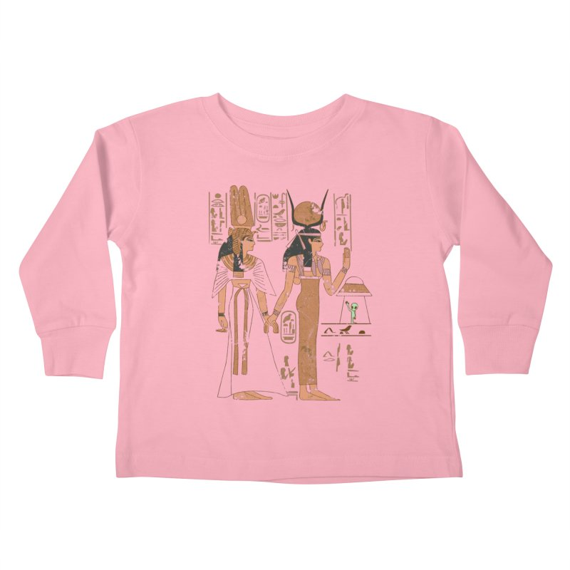 Visitor Kids Toddler Longsleeve T-Shirt by Flying Mouse365