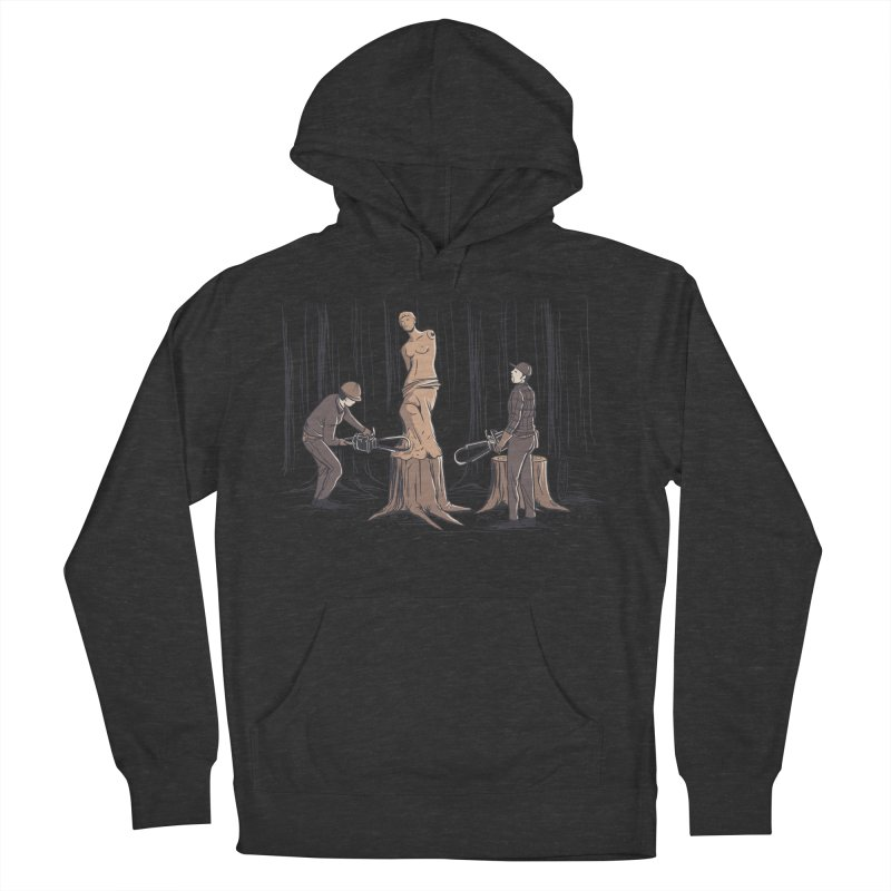 Masterpiece Men's French Terry Pullover Hoody by Flying Mouse365