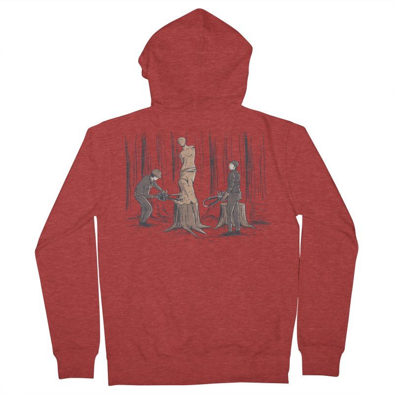 Masterpiece Men's Zip-Up Hoody by Flying Mouse365
