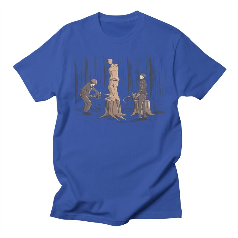 Masterpiece Women's Regular Unisex T-Shirt by Flying Mouse365
