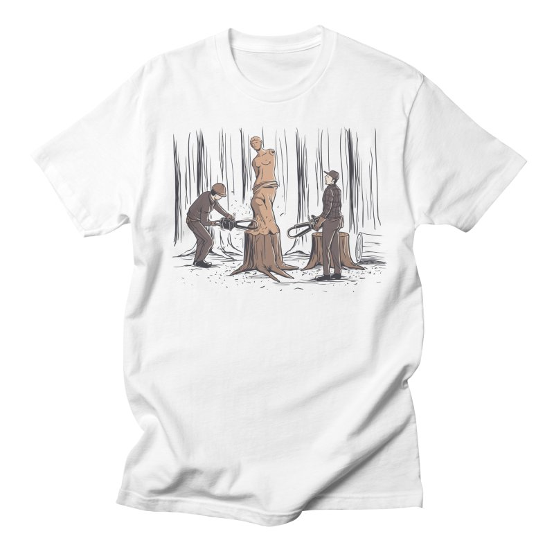 Masterpiece Men's T-Shirt by Flying Mouse365