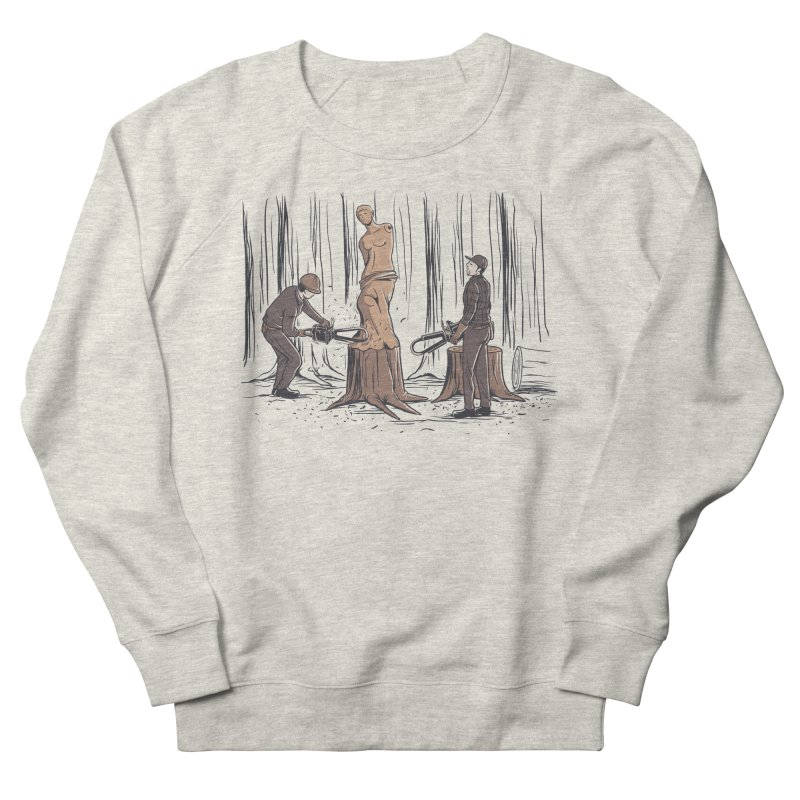 Masterpiece Women's French Terry Sweatshirt by Flying Mouse365