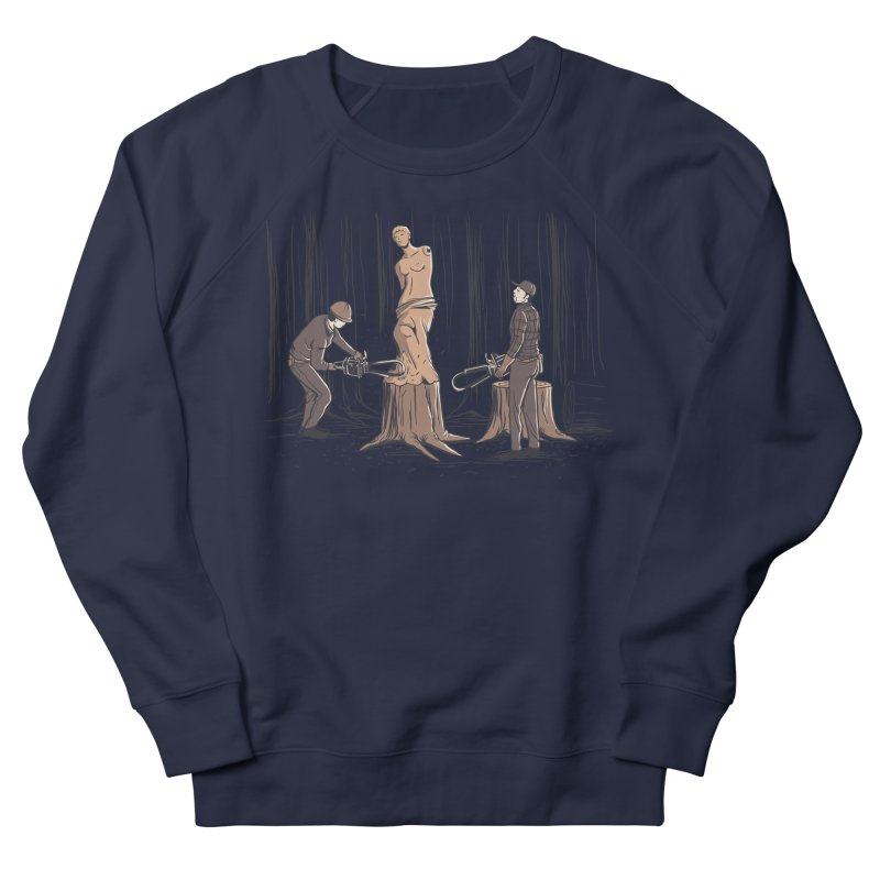 Masterpiece Men's French Terry Sweatshirt by Flying Mouse365
