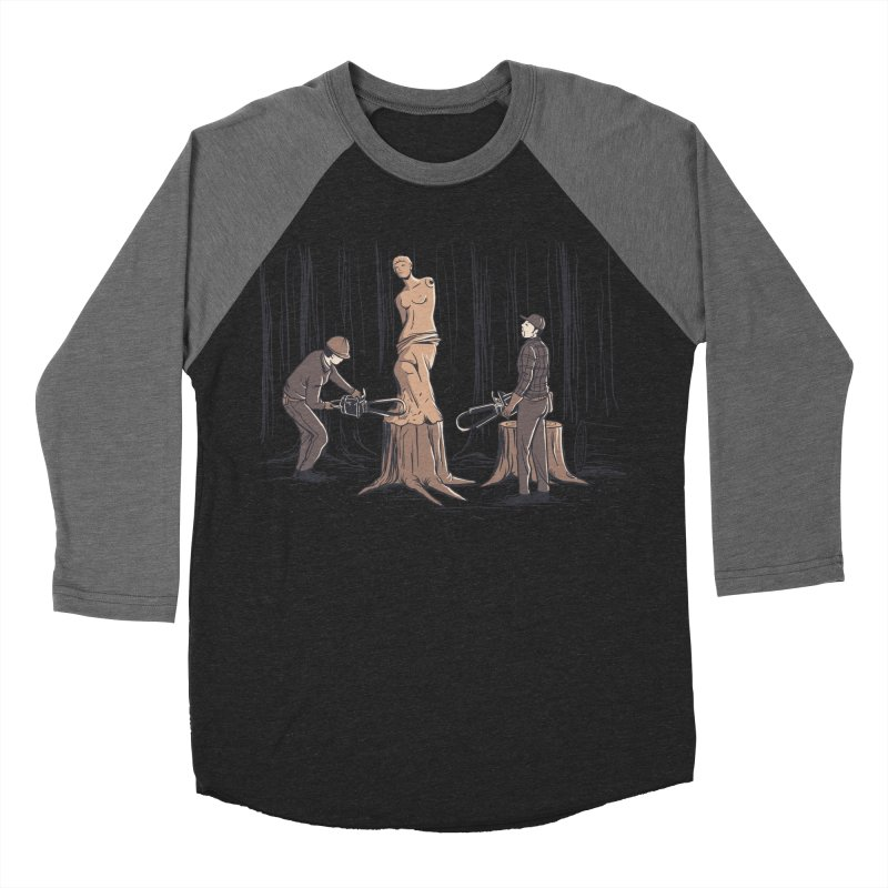 Masterpiece Men's Baseball Triblend Longsleeve T-Shirt by Flying Mouse365